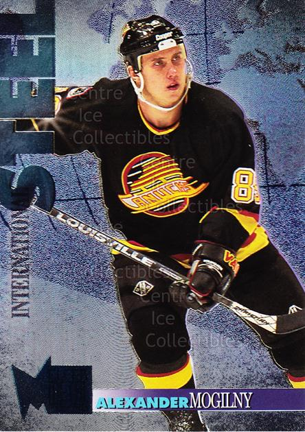1995-96 Metal International Steel #15 Alexander Mogilny<br/>6 In Stock - $2.00 each - <a href=https://centericecollectibles.foxycart.com/cart?name=1995-96%20Metal%20International%20Steel%20%2315%20Alexander%20Mogil...&quantity_max=6&price=$2.00&code=40940 class=foxycart> Buy it now! </a>