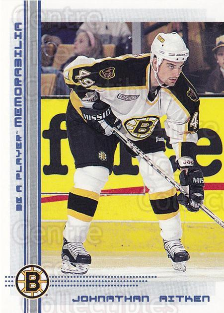 2000-01 BAP Memorabilia Sapphire #157 Johnathan Aitken<br/>1 In Stock - $5.00 each - <a href=https://centericecollectibles.foxycart.com/cart?name=2000-01%20BAP%20Memorabilia%20Sapphire%20%23157%20Johnathan%20Aitke...&quantity_max=1&price=$5.00&code=410265 class=foxycart> Buy it now! </a>