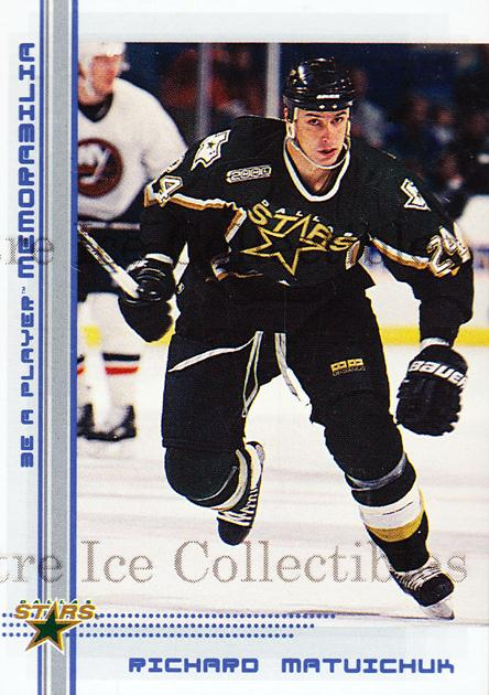 2000-01 BAP Memorabilia Sapphire #326 Richard Matvichuk<br/>1 In Stock - $5.00 each - <a href=https://centericecollectibles.foxycart.com/cart?name=2000-01%20BAP%20Memorabilia%20Sapphire%20%23326%20Richard%20Matvich...&quantity_max=1&price=$5.00&code=410428 class=foxycart> Buy it now! </a>