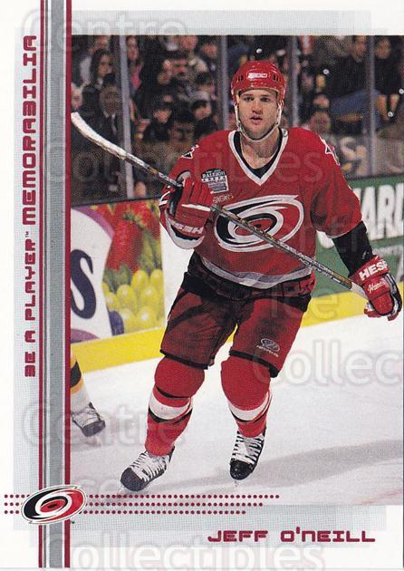 2000-01 BAP Memorabilia Ruby #110 Jeff O'Neill<br/>1 In Stock - $3.00 each - <a href=https://centericecollectibles.foxycart.com/cart?name=2000-01%20BAP%20Memorabilia%20Ruby%20%23110%20Jeff%20O'Neill...&quantity_max=1&price=$3.00&code=410741 class=foxycart> Buy it now! </a>