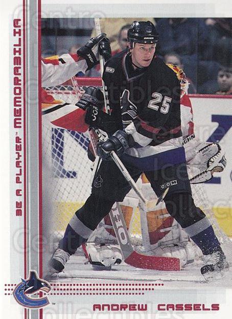 2000-01 BAP Memorabilia Ruby #178 Andrew Cassels<br/>1 In Stock - $3.00 each - <a href=https://centericecollectibles.foxycart.com/cart?name=2000-01%20BAP%20Memorabilia%20Ruby%20%23178%20Andrew%20Cassels...&quantity_max=1&price=$3.00&code=410807 class=foxycart> Buy it now! </a>