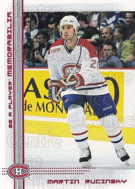 2000-01 BAP Memorabilia Ruby #197 Martin Rucinsky<br/>2 In Stock - $3.00 each - <a href=https://centericecollectibles.foxycart.com/cart?name=2000-01%20BAP%20Memorabilia%20Ruby%20%23197%20Martin%20Rucinsky...&quantity_max=2&price=$3.00&code=410828 class=foxycart> Buy it now! </a>