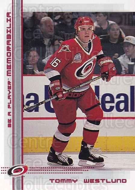 2000-01 BAP Memorabilia Ruby #371 Tommy Westlund<br/>1 In Stock - $3.00 each - <a href=https://centericecollectibles.foxycart.com/cart?name=2000-01%20BAP%20Memorabilia%20Ruby%20%23371%20Tommy%20Westlund...&quantity_max=1&price=$3.00&code=410992 class=foxycart> Buy it now! </a>