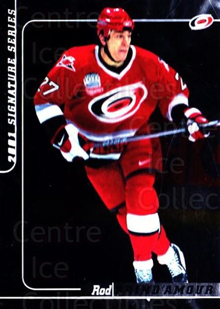 2000-01 BAP Signature Series #16 Rod Brind'Amour<br/>3 In Stock - $1.00 each - <a href=https://centericecollectibles.foxycart.com/cart?name=2000-01%20BAP%20Signature%20Series%20%2316%20Rod%20Brind'Amour...&quantity_max=3&price=$1.00&code=411193 class=foxycart> Buy it now! </a>