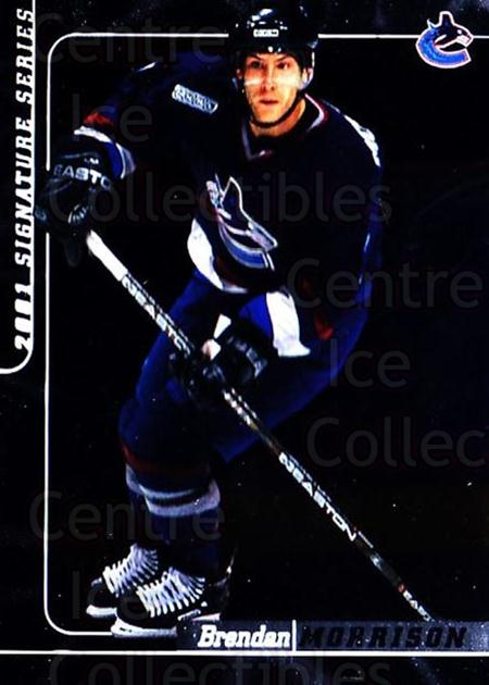 2000-01 BAP Signature Series #126 Brendan Morrison<br/>1 In Stock - $1.00 each - <a href=https://centericecollectibles.foxycart.com/cart?name=2000-01%20BAP%20Signature%20Series%20%23126%20Brendan%20Morriso...&quantity_max=1&price=$1.00&code=411303 class=foxycart> Buy it now! </a>