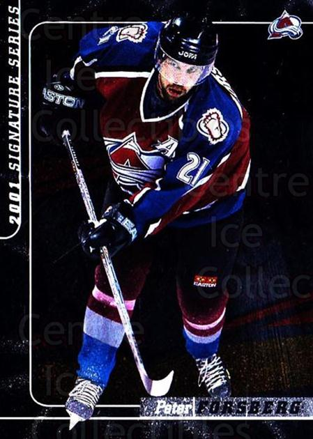 2000-01 BAP Signature Series #139 Peter Forsberg<br/>1 In Stock - $3.00 each - <a href=https://centericecollectibles.foxycart.com/cart?name=2000-01%20BAP%20Signature%20Series%20%23139%20Peter%20Forsberg...&quantity_max=1&price=$3.00&code=411316 class=foxycart> Buy it now! </a>