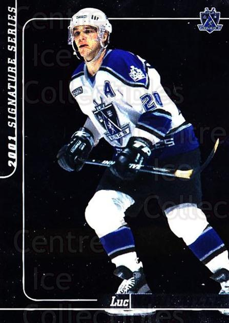 2000-01 BAP Signature Series #204 Luc Robitaille<br/>6 In Stock - $1.00 each - <a href=https://centericecollectibles.foxycart.com/cart?name=2000-01%20BAP%20Signature%20Series%20%23204%20Luc%20Robitaille...&quantity_max=6&price=$1.00&code=411381 class=foxycart> Buy it now! </a>