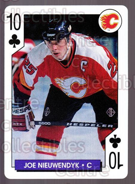 1995-96 NHL Aces Playing Card #10 Joe Nieuwendyk<br/>9 In Stock - $2.00 each - <a href=https://centericecollectibles.foxycart.com/cart?name=1995-96%20NHL%20Aces%20Playing%20Card%20%2310%20Joe%20Nieuwendyk...&quantity_max=9&price=$2.00&code=41152 class=foxycart> Buy it now! </a>