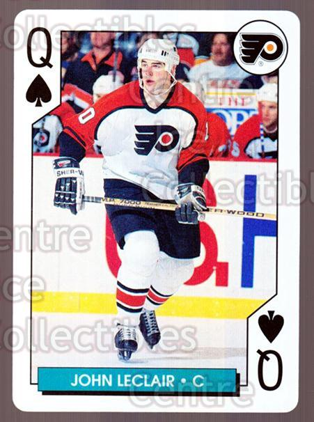 1995-96 NHL Aces Playing Card #51 John LeClair<br/>10 In Stock - $2.00 each - <a href=https://centericecollectibles.foxycart.com/cart?name=1995-96%20NHL%20Aces%20Playing%20Card%20%2351%20John%20LeClair...&quantity_max=10&price=$2.00&code=41159 class=foxycart> Buy it now! </a>