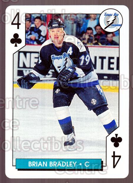 1995-96 NHL Aces Playing Card #4 Brian Bradley<br/>10 In Stock - $2.00 each - <a href=https://centericecollectibles.foxycart.com/cart?name=1995-96%20NHL%20Aces%20Playing%20Card%20%234%20Brian%20Bradley...&quantity_max=10&price=$2.00&code=41172 class=foxycart> Buy it now! </a>