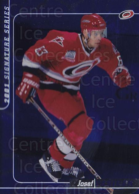 2000-01 BAP Signature Series Sapphire #264 Josef Vasicek<br/>2 In Stock - $5.00 each - <a href=https://centericecollectibles.foxycart.com/cart?name=2000-01%20BAP%20Signature%20Series%20Sapphire%20%23264%20Josef%20Vasicek...&quantity_max=2&price=$5.00&code=411853 class=foxycart> Buy it now! </a>