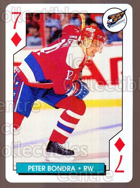 1995-96 NHL Aces Playing Card #33 Peter Bondra<br/>10 In Stock - $2.00 each - <a href=https://centericecollectibles.foxycart.com/cart?name=1995-96%20NHL%20Aces%20Playing%20Card%20%2333%20Peter%20Bondra...&quantity_max=10&price=$2.00&code=41185 class=foxycart> Buy it now! </a>