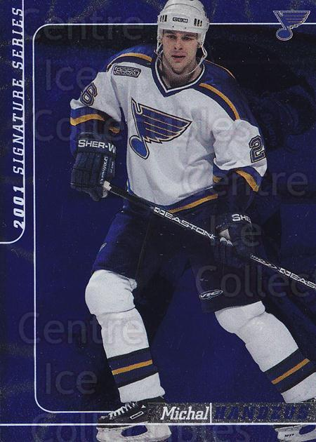 2000-01 BAP Signature Series Sapphire #39 Michal Handzus<br/>2 In Stock - $5.00 each - <a href=https://centericecollectibles.foxycart.com/cart?name=2000-01%20BAP%20Signature%20Series%20Sapphire%20%2339%20Michal%20Handzus...&quantity_max=2&price=$5.00&code=411928 class=foxycart> Buy it now! </a>