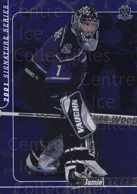 2000-01 BAP Signature Series Sapphire #40 Jamie Storr<br/>2 In Stock - $5.00 each - <a href=https://centericecollectibles.foxycart.com/cart?name=2000-01%20BAP%20Signature%20Series%20Sapphire%20%2340%20Jamie%20Storr...&quantity_max=2&price=$5.00&code=411929 class=foxycart> Buy it now! </a>