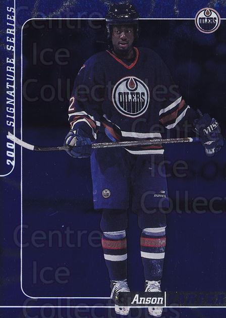 2000-01 BAP Signature Series Sapphire #72 Anson Carter<br/>3 In Stock - $5.00 each - <a href=https://centericecollectibles.foxycart.com/cart?name=2000-01%20BAP%20Signature%20Series%20Sapphire%20%2372%20Anson%20Carter...&quantity_max=3&price=$5.00&code=411961 class=foxycart> Buy it now! </a>