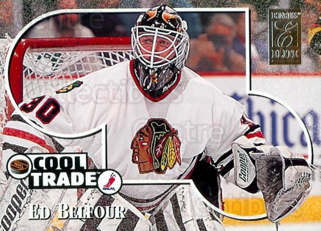 1995-96 NHL Cool Trade #14 Ed Belfour<br/>6 In Stock - $2.00 each - <a href=https://centericecollectibles.foxycart.com/cart?name=1995-96%20NHL%20Cool%20Trade%20%2314%20Ed%20Belfour...&price=$2.00&code=41198 class=foxycart> Buy it now! </a>