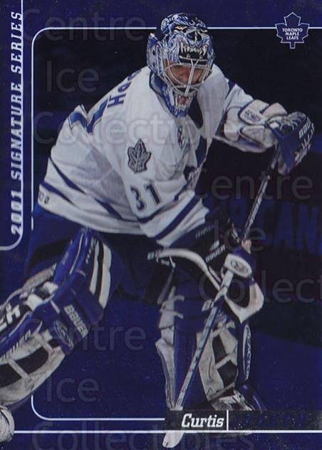 2000-01 BAP Signature Series Sapphire #104 Curtis Joseph<br/>1 In Stock - $10.00 each - <a href=https://centericecollectibles.foxycart.com/cart?name=2000-01%20BAP%20Signature%20Series%20Sapphire%20%23104%20Curtis%20Joseph...&quantity_max=1&price=$10.00&code=411993 class=foxycart> Buy it now! </a>