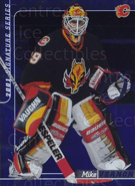 2000-01 BAP Signature Series Sapphire #125 Mike Vernon<br/>2 In Stock - $5.00 each - <a href=https://centericecollectibles.foxycart.com/cart?name=2000-01%20BAP%20Signature%20Series%20Sapphire%20%23125%20Mike%20Vernon...&quantity_max=2&price=$5.00&code=412013 class=foxycart> Buy it now! </a>