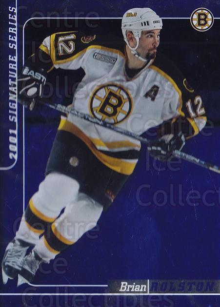 2000-01 BAP Signature Series Sapphire #136 Brian Rolston<br/>1 In Stock - $5.00 each - <a href=https://centericecollectibles.foxycart.com/cart?name=2000-01%20BAP%20Signature%20Series%20Sapphire%20%23136%20Brian%20Rolston...&quantity_max=1&price=$5.00&code=412024 class=foxycart> Buy it now! </a>