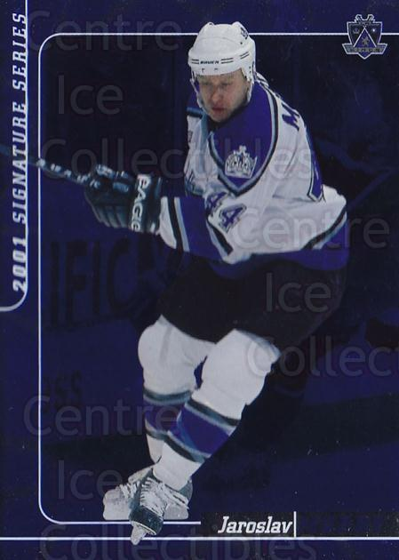 2000-01 BAP Signature Series Sapphire #144 Jaroslav Modry<br/>2 In Stock - $5.00 each - <a href=https://centericecollectibles.foxycart.com/cart?name=2000-01%20BAP%20Signature%20Series%20Sapphire%20%23144%20Jaroslav%20Modry...&quantity_max=2&price=$5.00&code=412032 class=foxycart> Buy it now! </a>