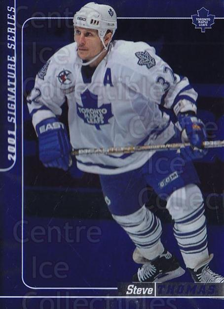 2000-01 BAP Signature Series Sapphire #152 Steve Thomas<br/>1 In Stock - $5.00 each - <a href=https://centericecollectibles.foxycart.com/cart?name=2000-01%20BAP%20Signature%20Series%20Sapphire%20%23152%20Steve%20Thomas...&quantity_max=1&price=$5.00&code=412040 class=foxycart> Buy it now! </a>