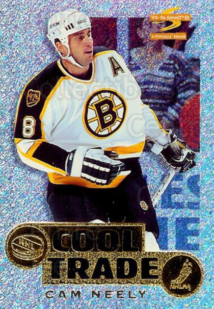 1995-96 NHL Cool Trade Redemption #1 Cam Neely<br/>12 In Stock - $3.00 each - <a href=https://centericecollectibles.foxycart.com/cart?name=1995-96%20NHL%20Cool%20Trade%20Redemption%20%231%20Cam%20Neely...&quantity_max=12&price=$3.00&code=41206 class=foxycart> Buy it now! </a>
