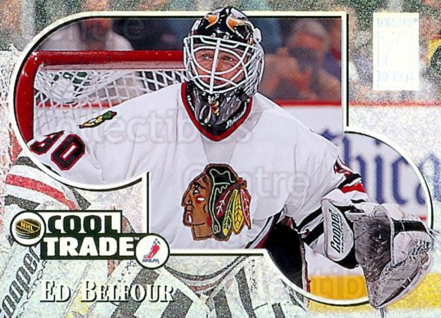 1995-96 NHL Cool Trade Redemption #14 Ed Belfour<br/>3 In Stock - $3.00 each - <a href=https://centericecollectibles.foxycart.com/cart?name=1995-96%20NHL%20Cool%20Trade%20Redemption%20%2314%20Ed%20Belfour...&price=$3.00&code=41209 class=foxycart> Buy it now! </a>