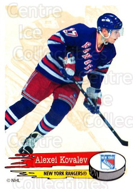1995-96 Panini Stickers #106 Alexei Kovalev<br/>6 In Stock - $1.00 each - <a href=https://centericecollectibles.foxycart.com/cart?name=1995-96%20Panini%20Stickers%20%23106%20Alexei%20Kovalev...&quantity_max=6&price=$1.00&code=41223 class=foxycart> Buy it now! </a>