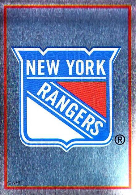1995-96 Panini Stickers #109 New York Rangers<br/>6 In Stock - $1.00 each - <a href=https://centericecollectibles.foxycart.com/cart?name=1995-96%20Panini%20Stickers%20%23109%20New%20York%20Ranger...&quantity_max=6&price=$1.00&code=41226 class=foxycart> Buy it now! </a>
