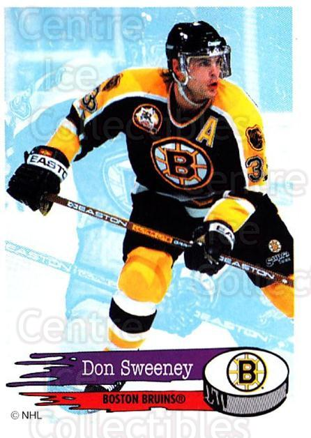 1995-96 Panini Stickers #11 Don Sweeney<br/>6 In Stock - $1.00 each - <a href=https://centericecollectibles.foxycart.com/cart?name=1995-96%20Panini%20Stickers%20%2311%20Don%20Sweeney...&quantity_max=6&price=$1.00&code=41227 class=foxycart> Buy it now! </a>
