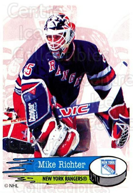 1995-96 Panini Stickers #112 Mike Richter<br/>3 In Stock - $1.00 each - <a href=https://centericecollectibles.foxycart.com/cart?name=1995-96%20Panini%20Stickers%20%23112%20Mike%20Richter...&quantity_max=3&price=$1.00&code=41230 class=foxycart> Buy it now! </a>