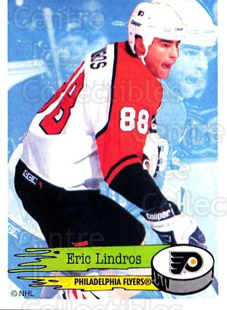 1995-96 Panini Stickers #113 Eric Lindros<br/>5 In Stock - $1.00 each - <a href=https://centericecollectibles.foxycart.com/cart?name=1995-96%20Panini%20Stickers%20%23113%20Eric%20Lindros...&quantity_max=5&price=$1.00&code=41231 class=foxycart> Buy it now! </a>