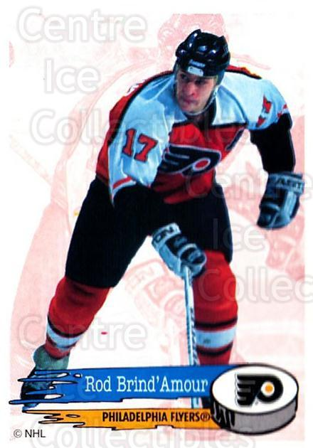 1995-96 Panini Stickers #114 Rod Brind'Amour<br/>6 In Stock - $1.00 each - <a href=https://centericecollectibles.foxycart.com/cart?name=1995-96%20Panini%20Stickers%20%23114%20Rod%20Brind'Amour...&quantity_max=6&price=$1.00&code=41232 class=foxycart> Buy it now! </a>