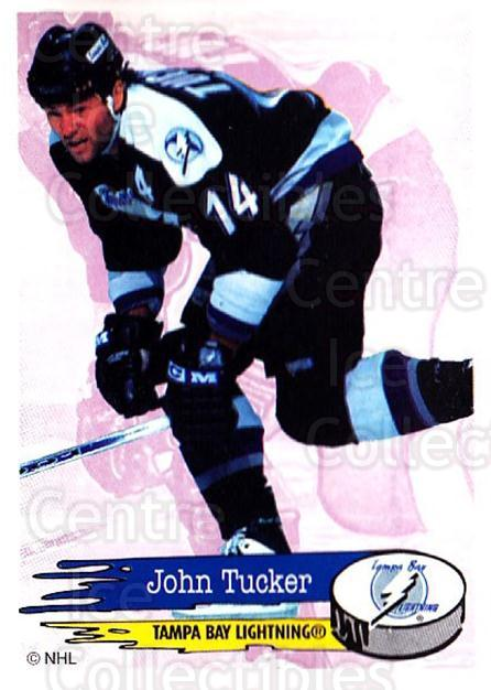1995-96 Panini Stickers #125 John Tucker<br/>6 In Stock - $1.00 each - <a href=https://centericecollectibles.foxycart.com/cart?name=1995-96%20Panini%20Stickers%20%23125%20John%20Tucker...&quantity_max=6&price=$1.00&code=41244 class=foxycart> Buy it now! </a>