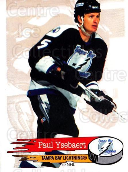 1995-96 Panini Stickers #129 Paul Ysebaert<br/>6 In Stock - $1.00 each - <a href=https://centericecollectibles.foxycart.com/cart?name=1995-96%20Panini%20Stickers%20%23129%20Paul%20Ysebaert...&quantity_max=6&price=$1.00&code=41248 class=foxycart> Buy it now! </a>