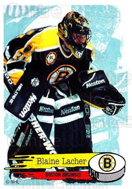 1995-96 Panini Stickers #13 Blaine Lacher<br/>5 In Stock - $1.00 each - <a href=https://centericecollectibles.foxycart.com/cart?name=1995-96%20Panini%20Stickers%20%2313%20Blaine%20Lacher...&quantity_max=5&price=$1.00&code=41249 class=foxycart> Buy it now! </a>