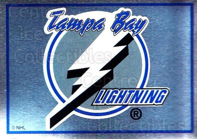 1995-96 Panini Stickers #131 Tampa Bay Lightning<br/>6 In Stock - $1.00 each - <a href=https://centericecollectibles.foxycart.com/cart?name=1995-96%20Panini%20Stickers%20%23131%20Tampa%20Bay%20Light...&quantity_max=6&price=$1.00&code=41251 class=foxycart> Buy it now! </a>