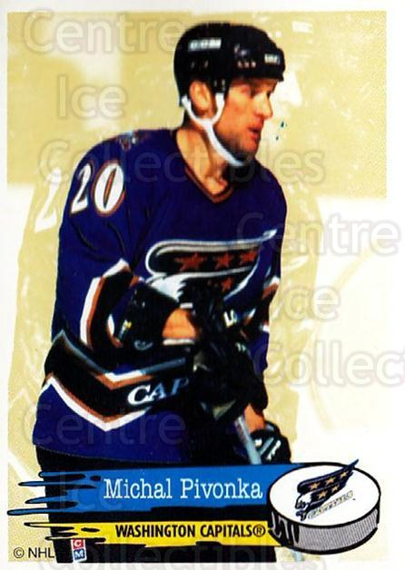 1995-96 Panini Stickers #136 Michal Pivonka<br/>4 In Stock - $1.00 each - <a href=https://centericecollectibles.foxycart.com/cart?name=1995-96%20Panini%20Stickers%20%23136%20Michal%20Pivonka...&quantity_max=4&price=$1.00&code=41256 class=foxycart> Buy it now! </a>