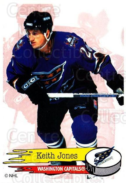 1995-96 Panini Stickers #140 Keith Jones<br/>6 In Stock - $1.00 each - <a href=https://centericecollectibles.foxycart.com/cart?name=1995-96%20Panini%20Stickers%20%23140%20Keith%20Jones...&quantity_max=6&price=$1.00&code=41261 class=foxycart> Buy it now! </a>