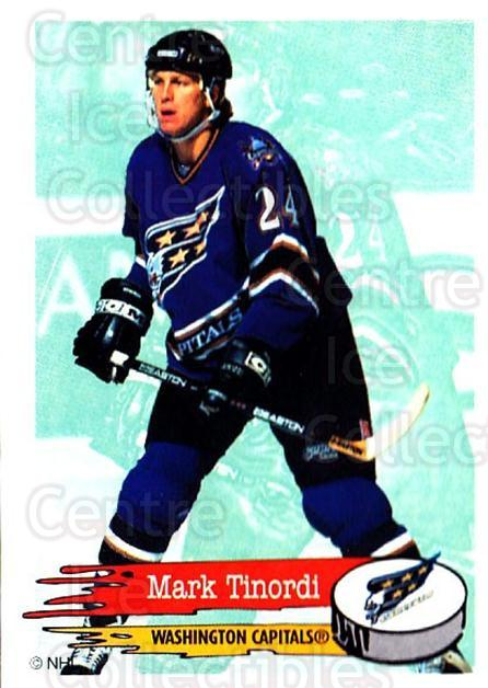 1995-96 Panini Stickers #144 Mark Tinordi<br/>5 In Stock - $1.00 each - <a href=https://centericecollectibles.foxycart.com/cart?name=1995-96%20Panini%20Stickers%20%23144%20Mark%20Tinordi...&quantity_max=5&price=$1.00&code=41265 class=foxycart> Buy it now! </a>