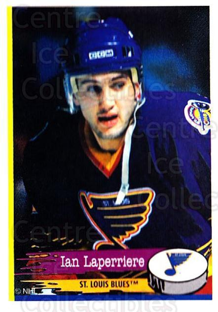 1995-96 Panini Stickers #155 Ian Laperriere<br/>5 In Stock - $1.00 each - <a href=https://centericecollectibles.foxycart.com/cart?name=1995-96%20Panini%20Stickers%20%23155%20Ian%20Laperriere...&quantity_max=5&price=$1.00&code=41275 class=foxycart> Buy it now! </a>