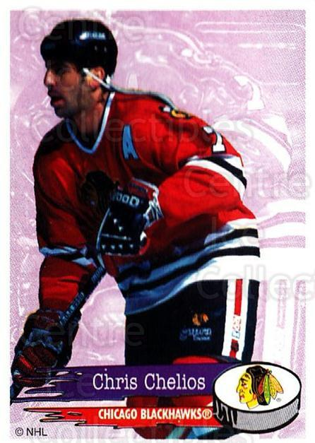 1995-96 Panini Stickers #164 Chris Chelios<br/>2 In Stock - $1.00 each - <a href=https://centericecollectibles.foxycart.com/cart?name=1995-96%20Panini%20Stickers%20%23164%20Chris%20Chelios...&quantity_max=2&price=$1.00&code=41285 class=foxycart> Buy it now! </a>