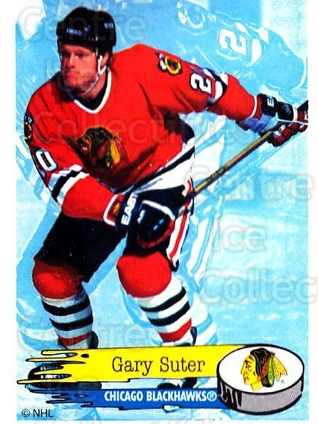1995-96 Panini Stickers #165 Gary Suter<br/>6 In Stock - $1.00 each - <a href=https://centericecollectibles.foxycart.com/cart?name=1995-96%20Panini%20Stickers%20%23165%20Gary%20Suter...&quantity_max=6&price=$1.00&code=41286 class=foxycart> Buy it now! </a>