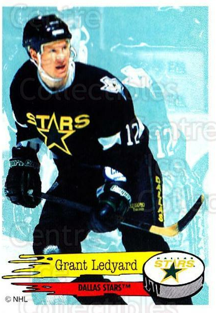 1995-96 Panini Stickers #176 Grant Ledyard<br/>5 In Stock - $1.00 each - <a href=https://centericecollectibles.foxycart.com/cart?name=1995-96%20Panini%20Stickers%20%23176%20Grant%20Ledyard...&quantity_max=5&price=$1.00&code=41298 class=foxycart> Buy it now! </a>