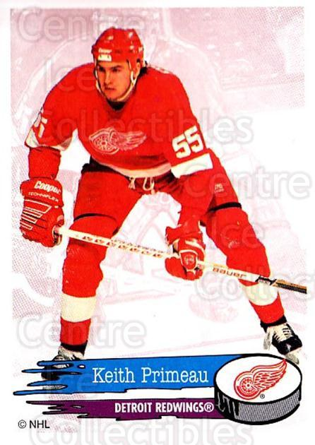 1995-96 Panini Stickers #181 Keith Primeau<br/>6 In Stock - $1.00 each - <a href=https://centericecollectibles.foxycart.com/cart?name=1995-96%20Panini%20Stickers%20%23181%20Keith%20Primeau...&quantity_max=6&price=$1.00&code=41302 class=foxycart> Buy it now! </a>