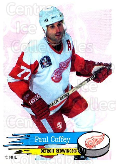 1995-96 Panini Stickers #184 Paul Coffey<br/>3 In Stock - $1.00 each - <a href=https://centericecollectibles.foxycart.com/cart?name=1995-96%20Panini%20Stickers%20%23184%20Paul%20Coffey...&quantity_max=3&price=$1.00&code=41304 class=foxycart> Buy it now! </a>