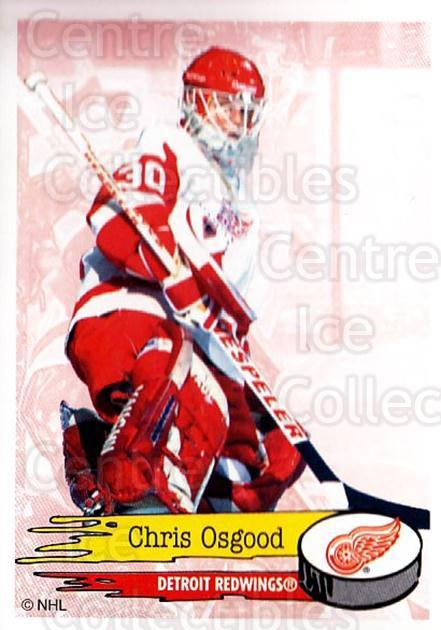 1995-96 Panini Stickers #187 Chris Osgood<br/>1 In Stock - $1.00 each - <a href=https://centericecollectibles.foxycart.com/cart?name=1995-96%20Panini%20Stickers%20%23187%20Chris%20Osgood...&quantity_max=1&price=$1.00&code=41306 class=foxycart> Buy it now! </a>