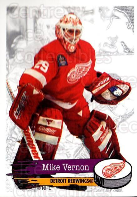 1995-96 Panini Stickers #188 Mike Vernon<br/>6 In Stock - $1.00 each - <a href=https://centericecollectibles.foxycart.com/cart?name=1995-96%20Panini%20Stickers%20%23188%20Mike%20Vernon...&quantity_max=6&price=$1.00&code=41307 class=foxycart> Buy it now! </a>