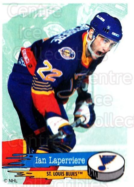 1995-96 Panini Stickers #190 Ian Laperriere<br/>6 In Stock - $1.00 each - <a href=https://centericecollectibles.foxycart.com/cart?name=1995-96%20Panini%20Stickers%20%23190%20Ian%20Laperriere...&quantity_max=6&price=$1.00&code=41310 class=foxycart> Buy it now! </a>