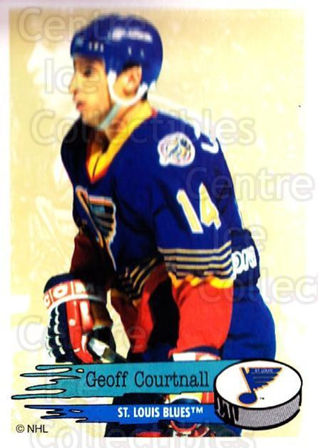 1995-96 Panini Stickers #193 Geoff Courtnall<br/>6 In Stock - $1.00 each - <a href=https://centericecollectibles.foxycart.com/cart?name=1995-96%20Panini%20Stickers%20%23193%20Geoff%20Courtnall...&quantity_max=6&price=$1.00&code=41313 class=foxycart> Buy it now! </a>